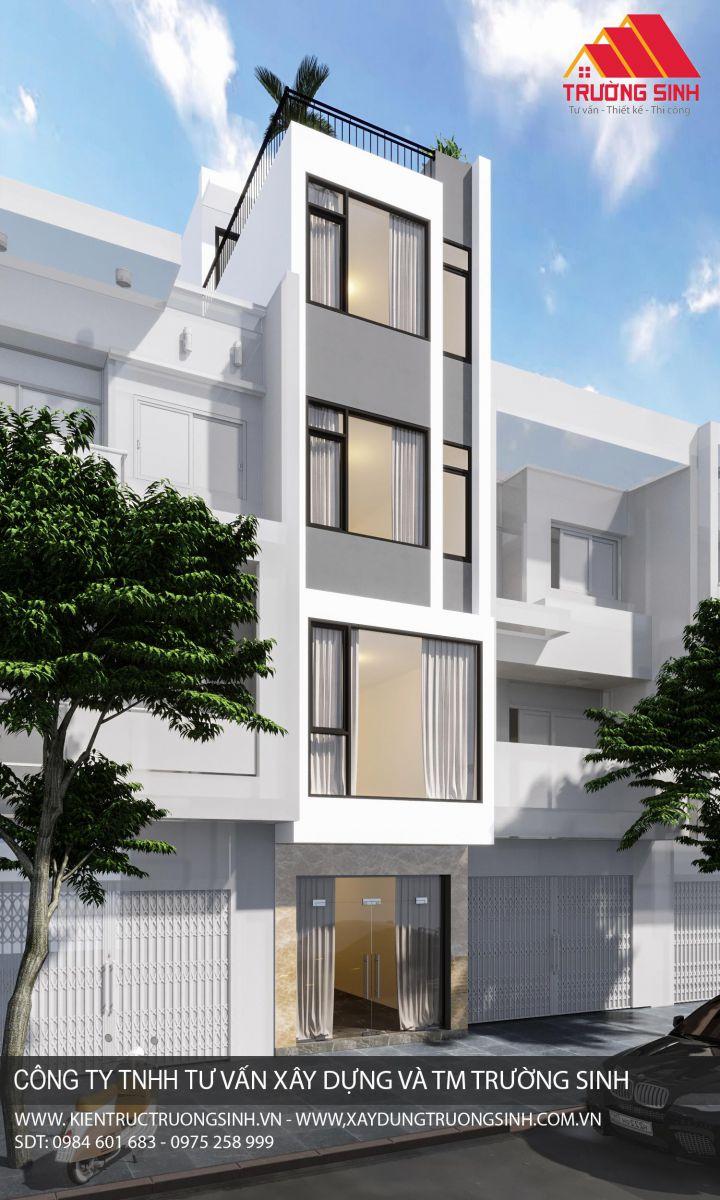 Dự án thiết kế, xây nhà trọn gói 4,5 tầng [CĐT: Anh Chương]  tại Đống Đa, Hà Nội 1
