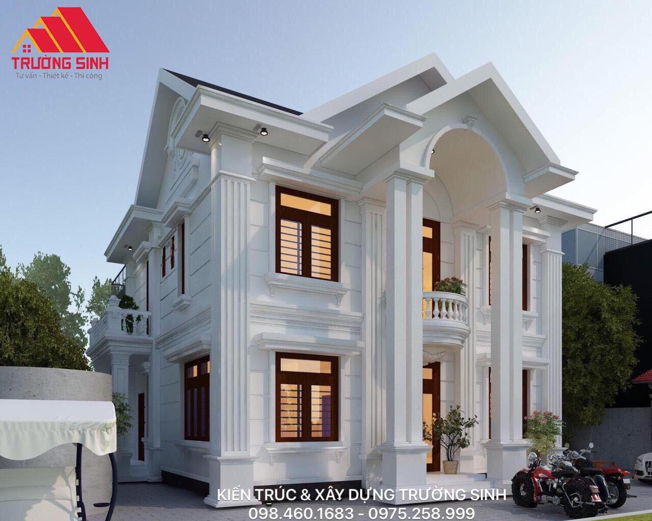 Thiết kế biệt thự tại tỉnh Hà Nam