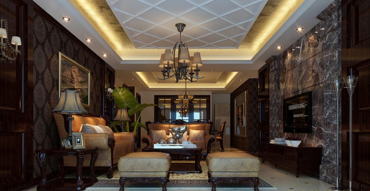 Thiết kế nội thất biệt thự theo phong cách tân cổ điển-2