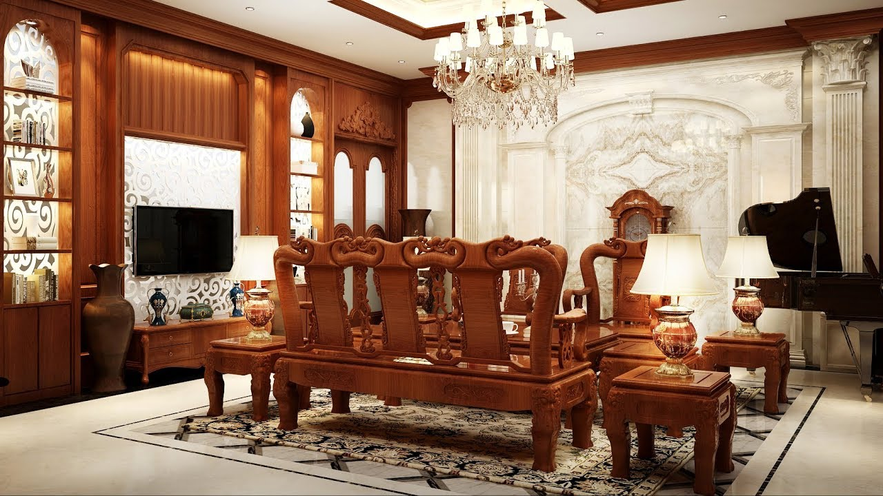 Thiết kế nội thất biệt thự theo phong cách tân cổ điển-4