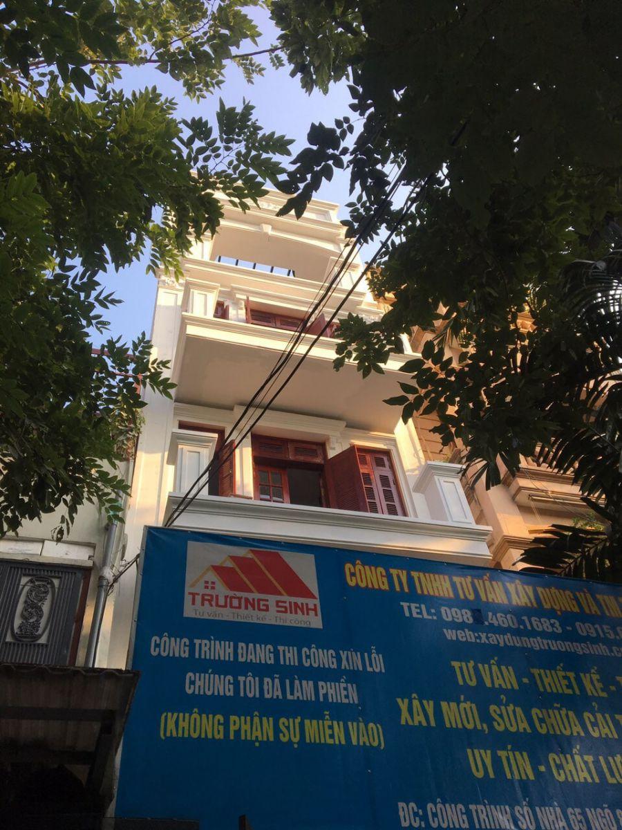 Thiết kế, sửa nhà trọn gói tại P. Ngọc Khánh, Q. Ba Đình, TP Hà Nội
