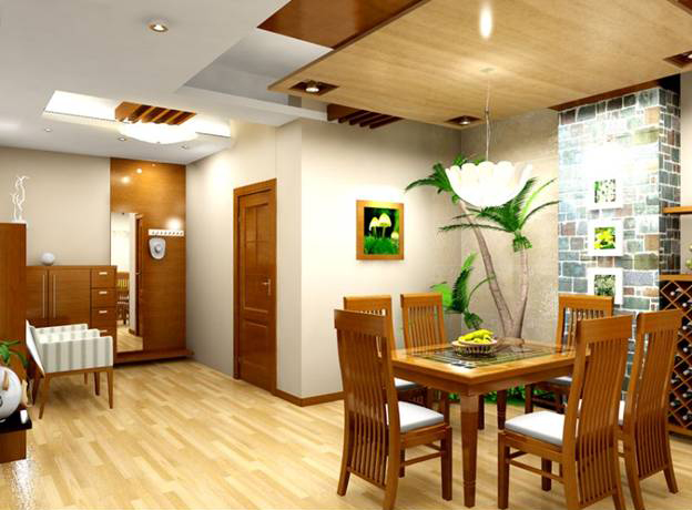 Trang trí nội thất cho không gian nhà ấn tượng-phòng ăn