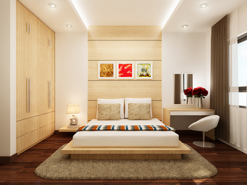 Trang trí nội thất cho không gian nhà ấn tượng-phòng ngủ