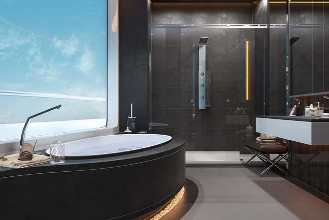 Trang trí nội thất cho không gian nhà ấn tượng-phòng tắm