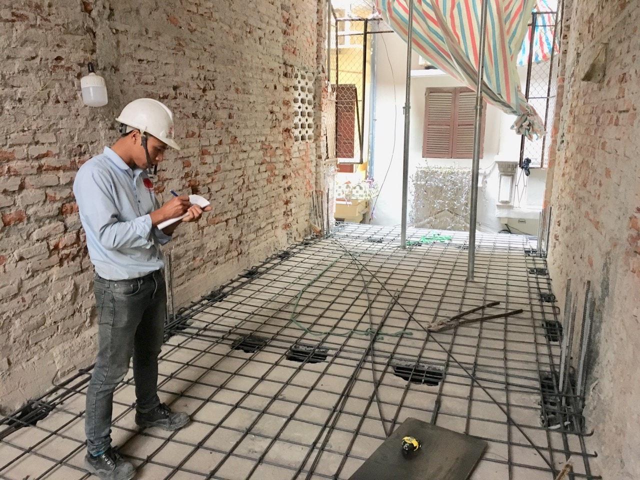 Siêu dự án thiết kế xây nhà trọn gói, sửa nhà trọn gói 5,5 tầng [CĐT chú Hoàng] tại Đống Đa-HN-13