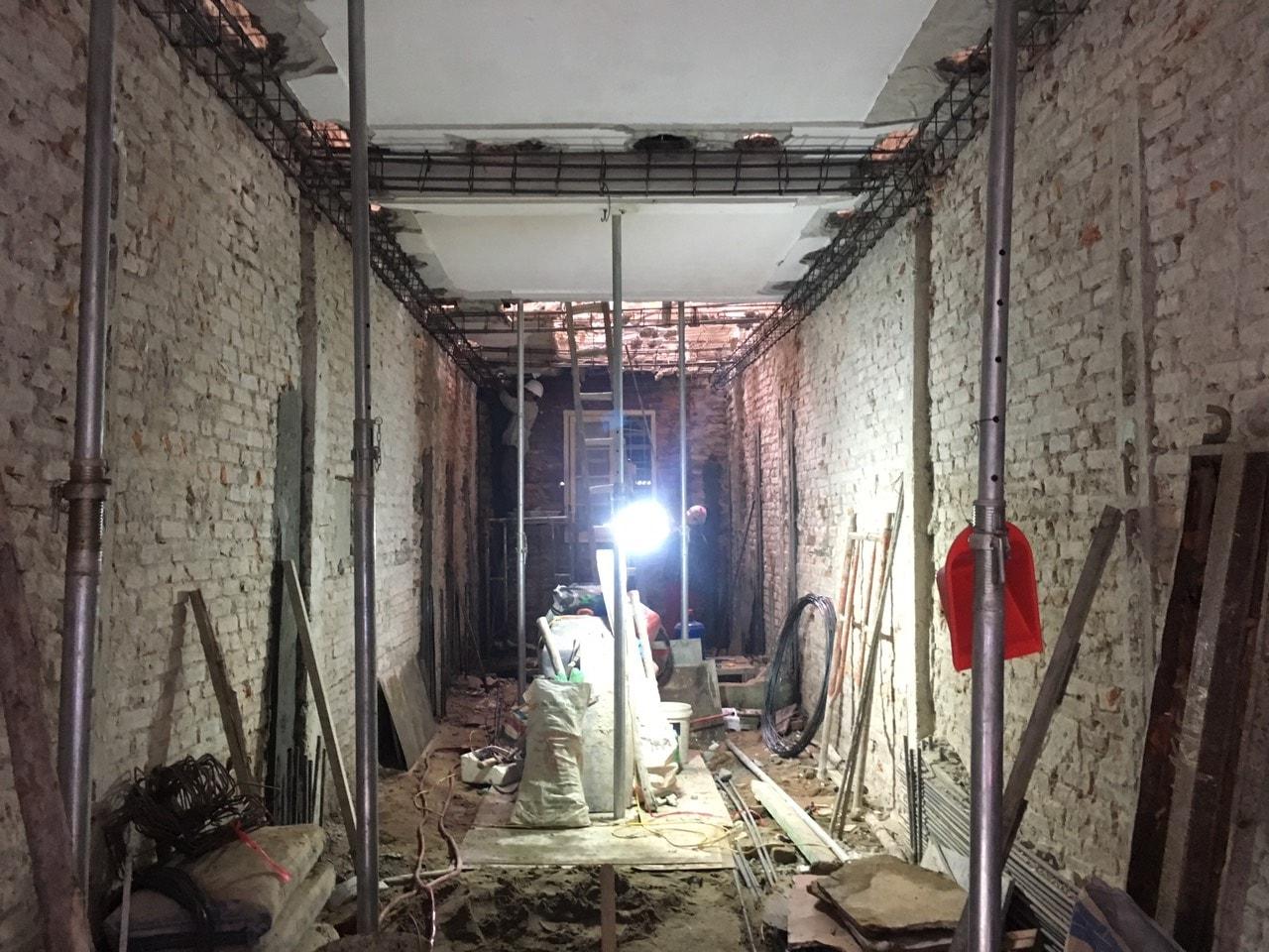 Siêu dự án thiết kế xây nhà trọn gói, sửa nhà trọn gói 5,5 tầng [CĐT chú Hoàng] tại Đống Đa-HN-10
