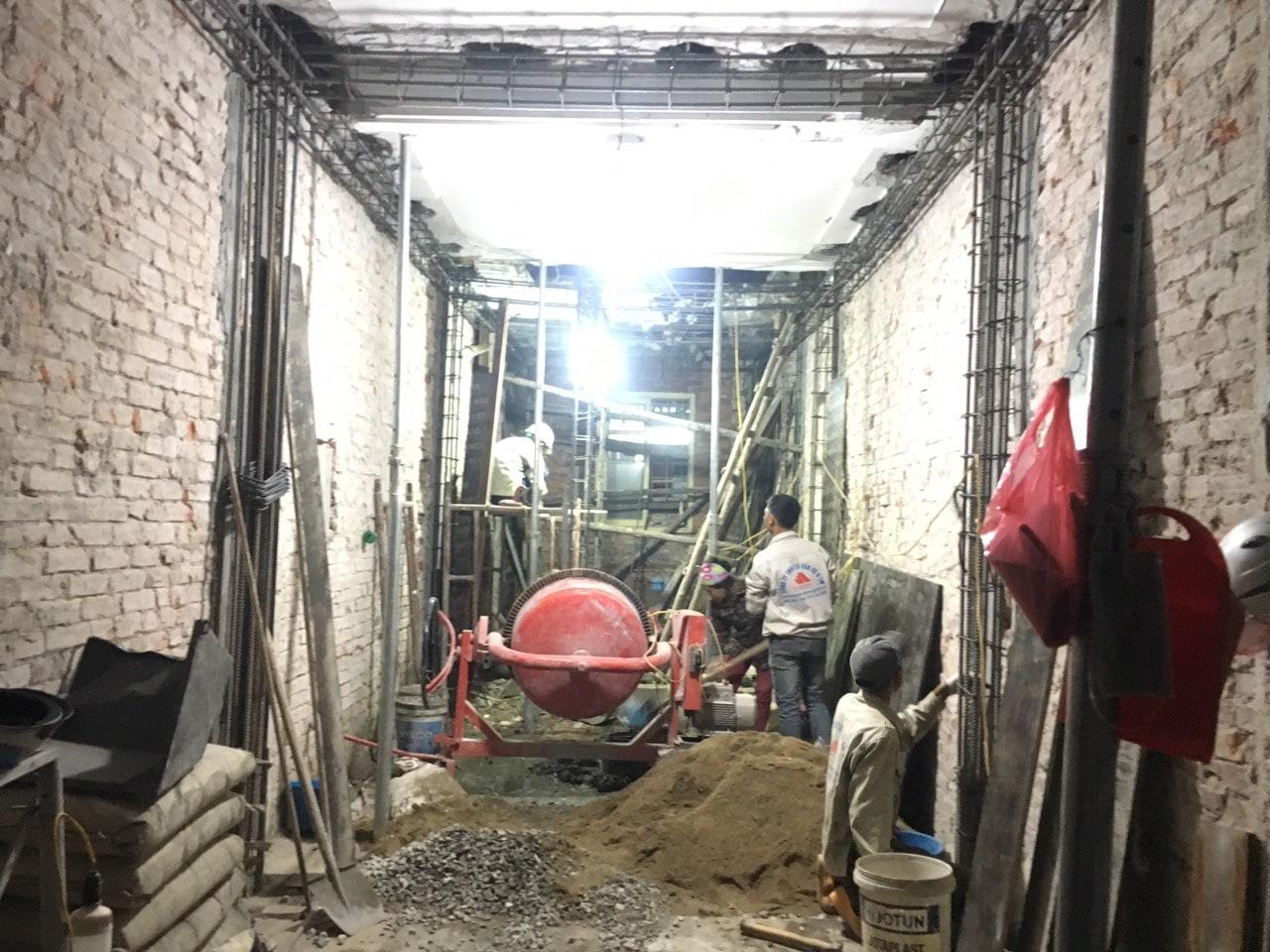Siêu dự án thiết kế xây nhà trọn gói, sửa nhà trọn gói 5,5 tầng [CĐT chú Hoàng] tại Đống Đa-HN-11