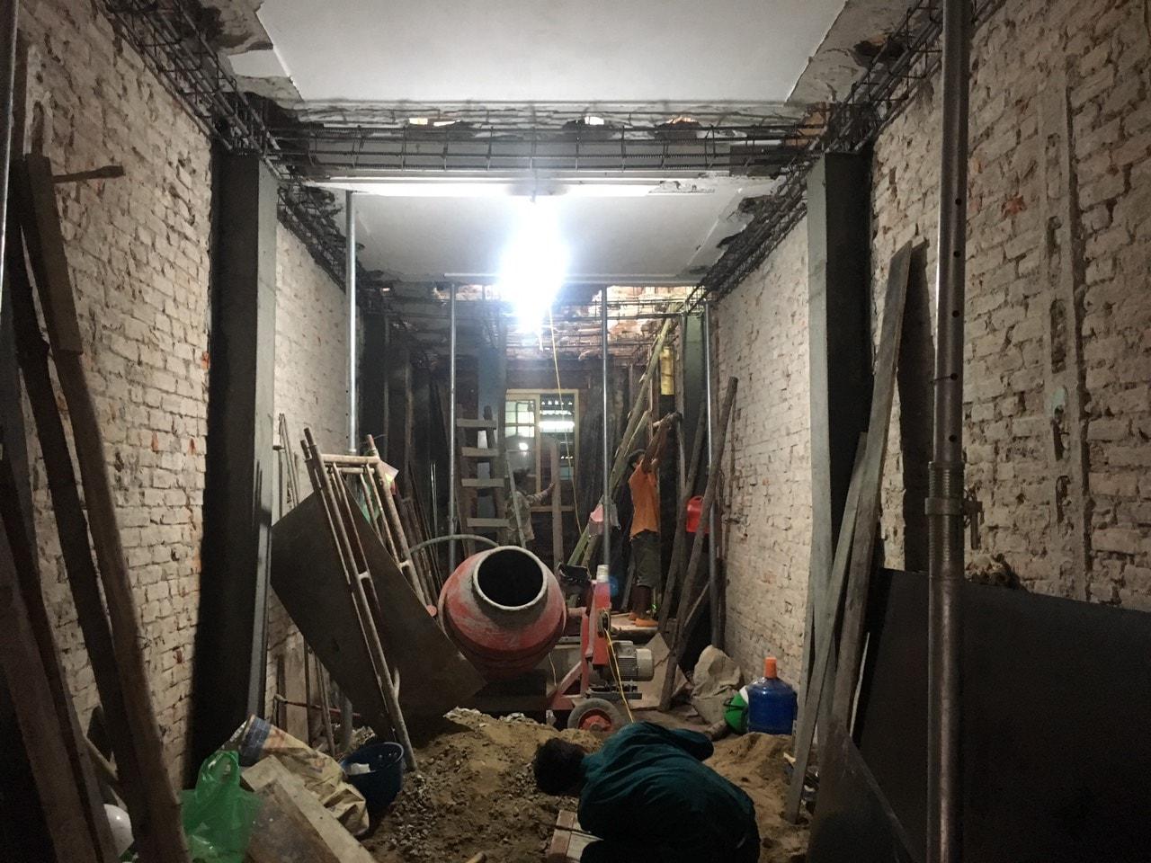 Siêu dự án thiết kế xây nhà trọn gói, sửa nhà trọn gói 5,5 tầng [CĐT chú Hoàng] tại Đống Đa-HN-12