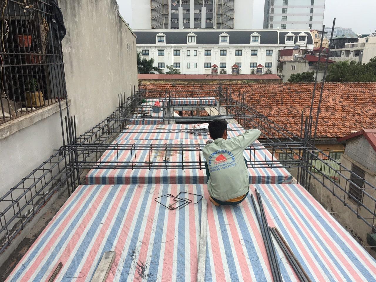 Siêu dự án thiết kế xây nhà trọn gói, sửa nhà trọn gói 5,5 tầng [CĐT chú Hoàng] tại Đống Đa-HN-20