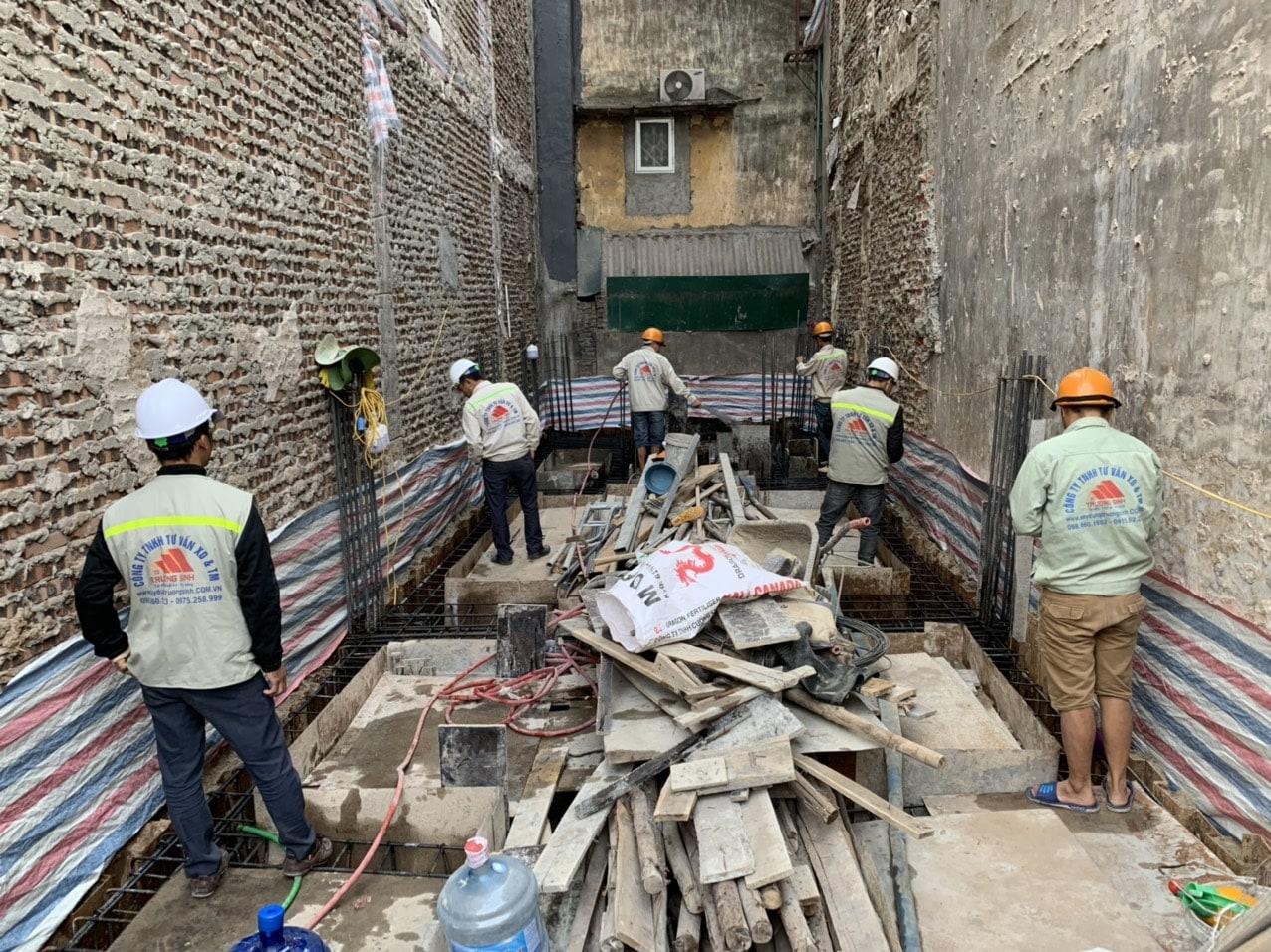 Dự án xây nhà trọn gói cho bác phương tại Định công, Hoàng Mai, Hà Nội-8
