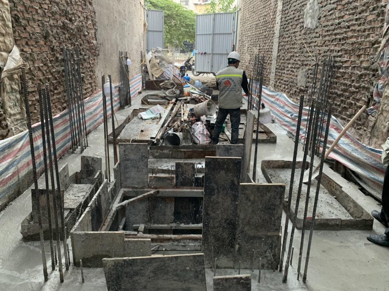 Dự án xây nhà trọn gói cho bác phương tại Định công, Hoàng Mai, Hà Nội-11