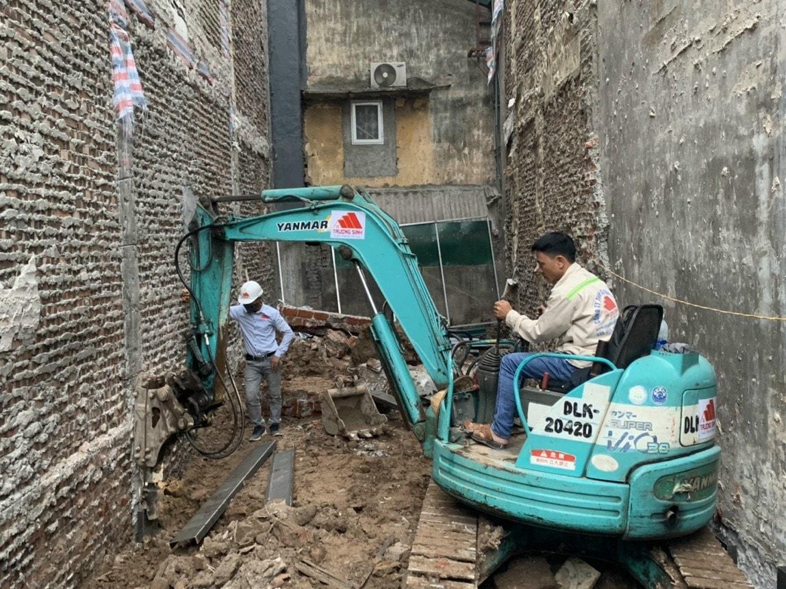 Dự án xây nhà trọn gói cho bác phương tại Định công, Hoàng Mai, Hà Nội-3