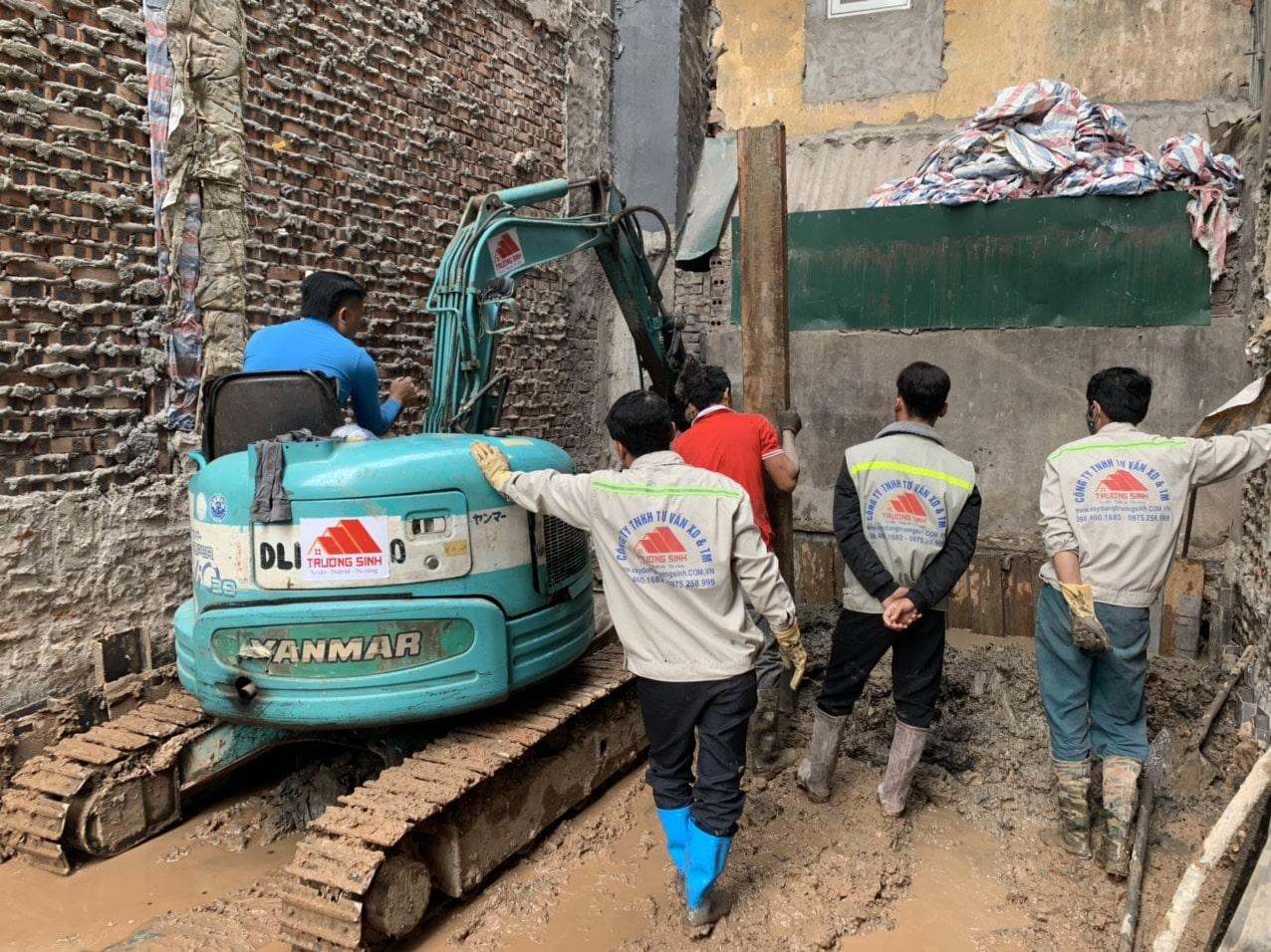 Dự án xây nhà trọn gói cho bác phương tại Định công, Hoàng Mai, Hà Nội-4