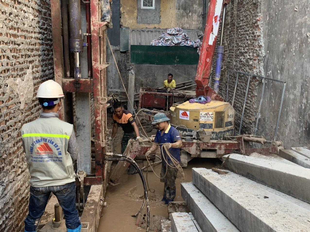 Dự án xây nhà trọn gói cho bác phương tại Định công, Hoàng Mai, Hà Nội-6