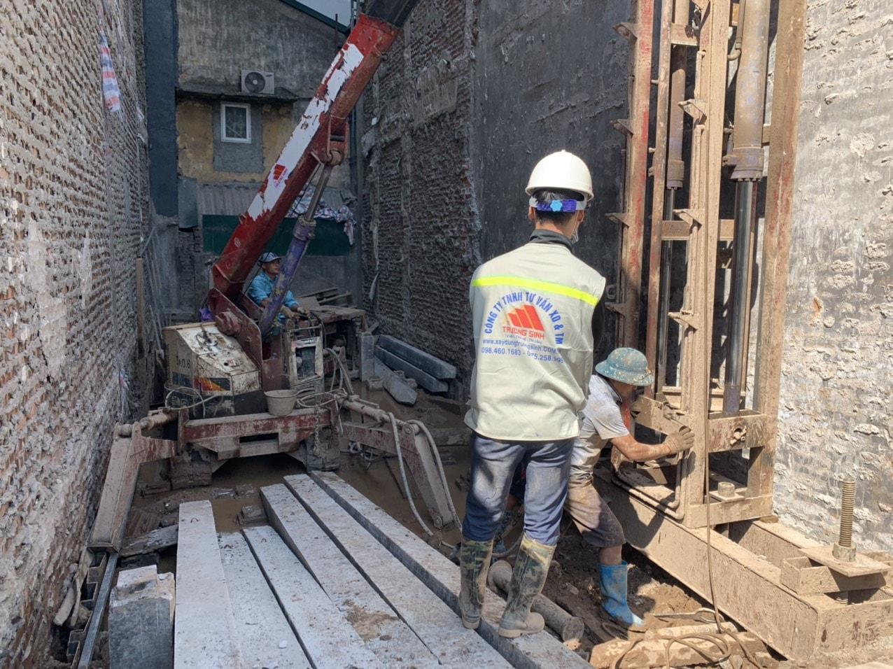 Dự án xây nhà trọn gói cho bác phương tại Định công, Hoàng Mai, Hà Nội-7