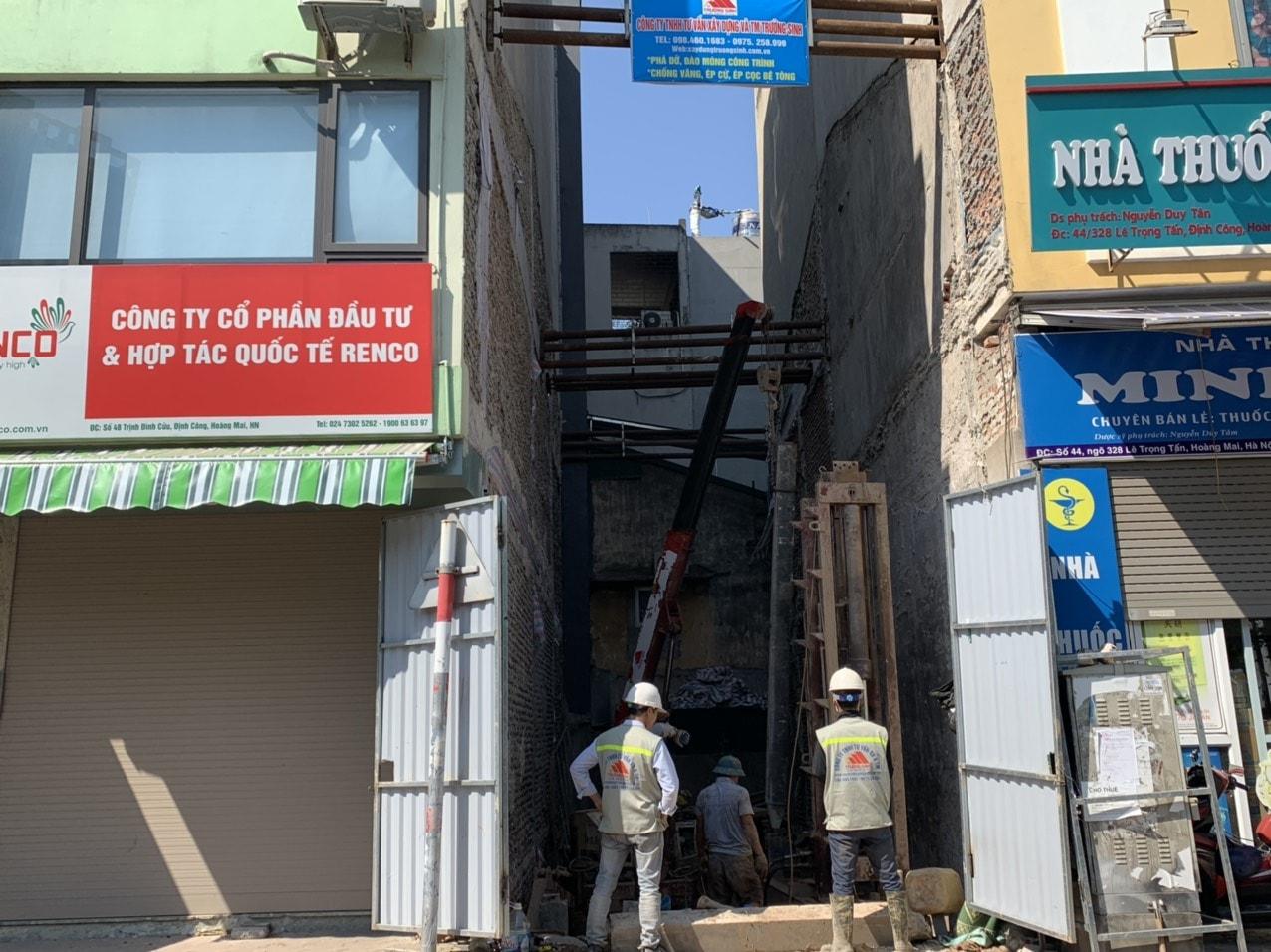 Dự án xây nhà trọn gói cho bác phương tại Định công, Hoàng Mai, Hà Nội-5