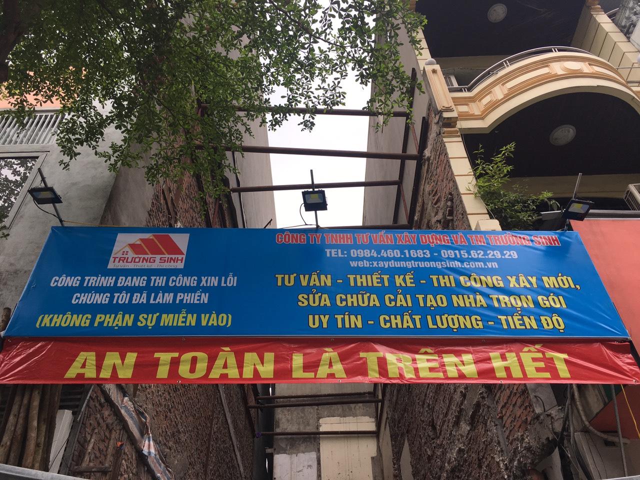 Thiết kế và thi công xây nhà trọn gói mặt phố Đống Đa Hà Nội