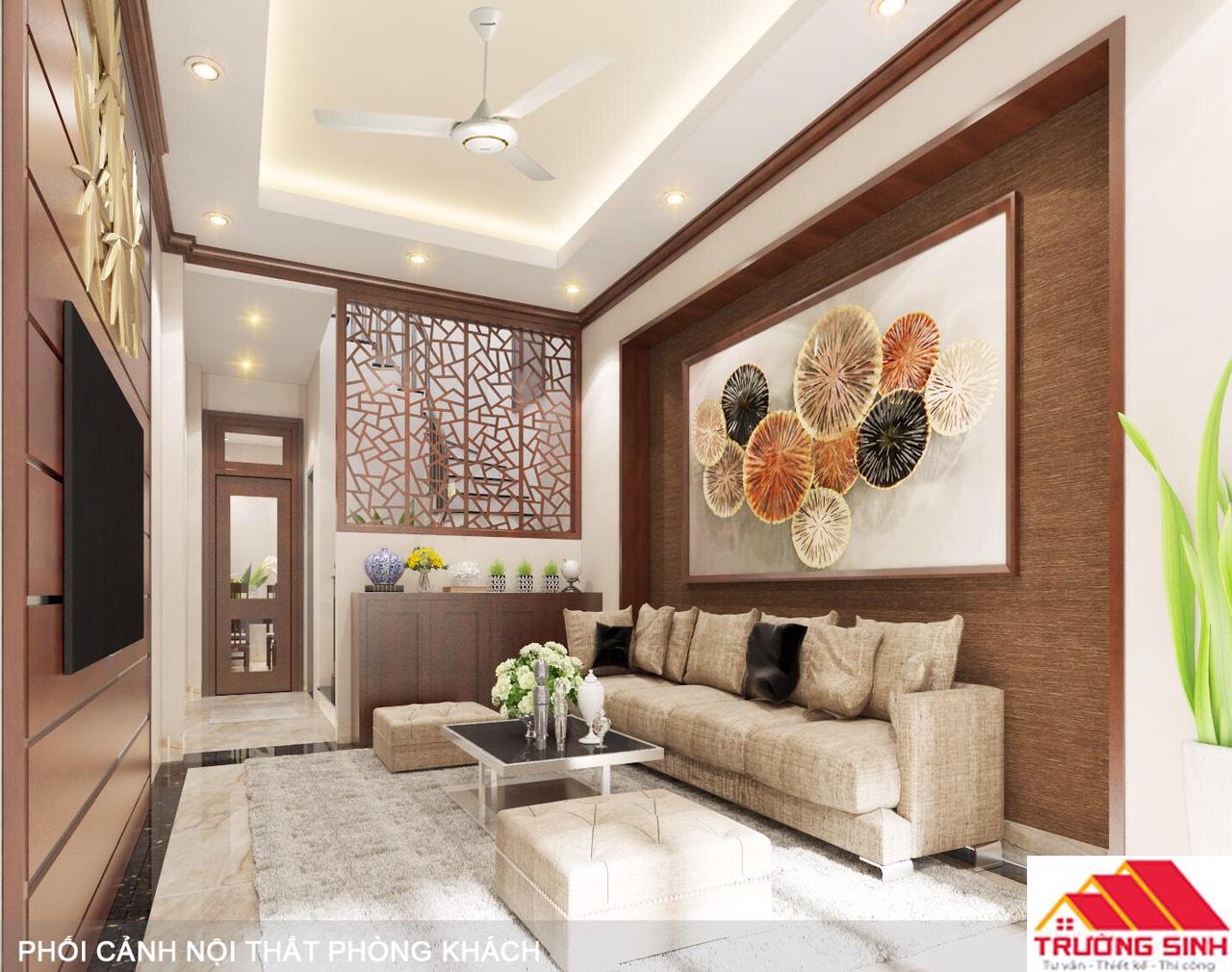 Thiết kế xây nhà trọn gói mặt phố ở Hà Nội mặt tiền 3,2 m